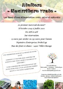 """Ateliers """"Nourriture vraie"""" @ Pépinière d'entreprises Prébo'Cap"""