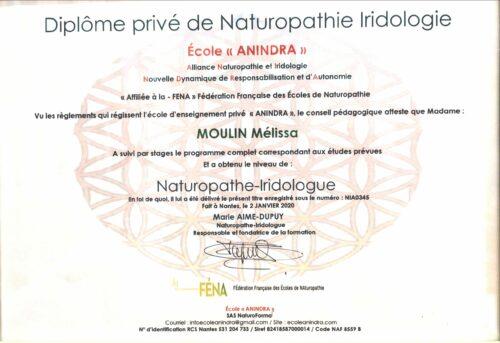 Diplome naturopathie