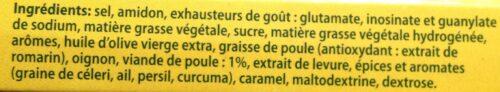 Liste ingrédients bouillon knorr
