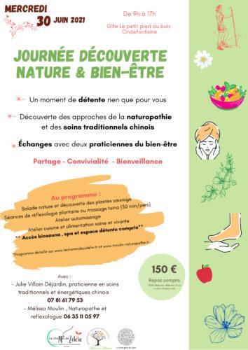 Journée découverte nature & bien-être